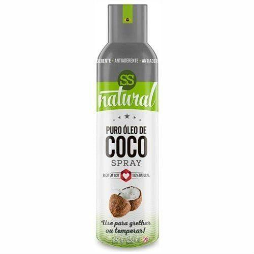 oleo de coco em spray ss natural