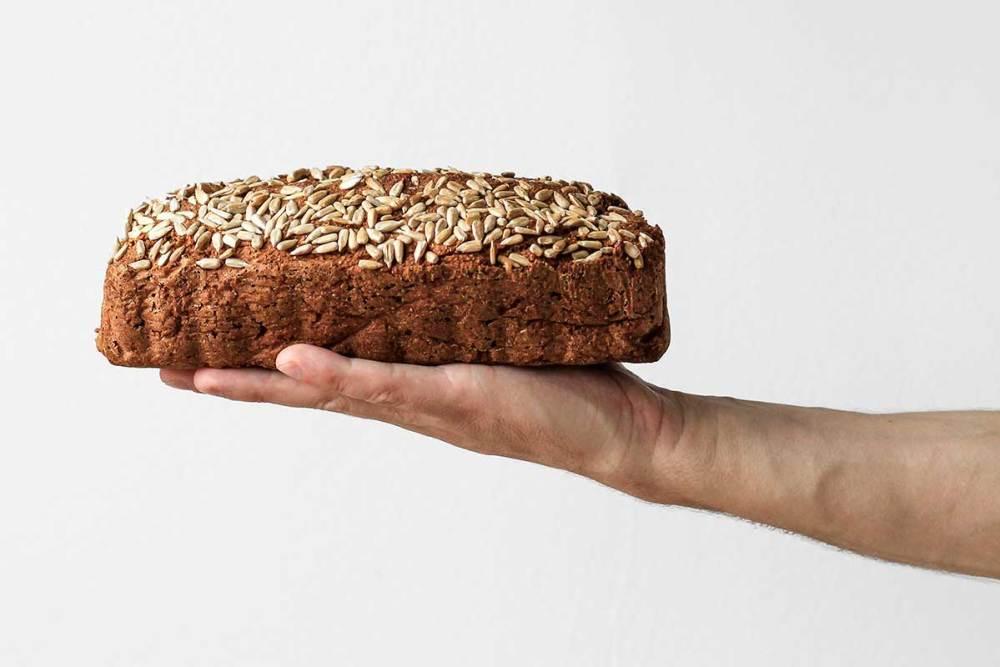 pão low carb aveia
