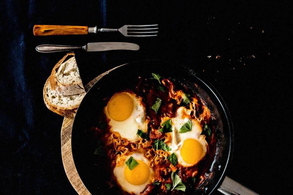 farofa de quinoa e ovo