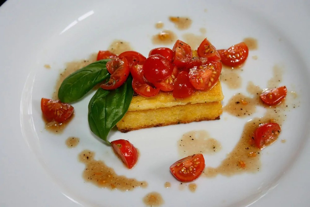polenta low carb frita