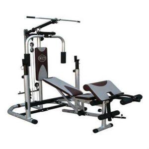 Estação de musculação especializada em supino da WCT Fitness