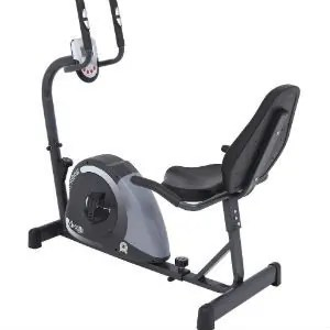 bicicleta ergométrica tipo horizontal
