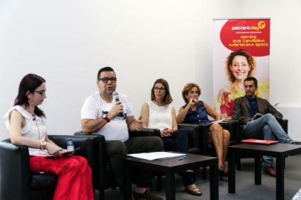 Andreia Fonseca (Merck Portugal), Jorge Nunes, Ana Luísa Pinto, Susana Protásio e Bruno Alves