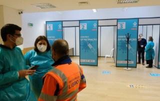 centro vacinação