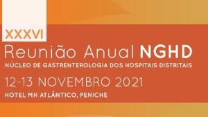 XXXVI Reunião Anual do Núcleo de Gastrenterologia dos Hospitais Distritais