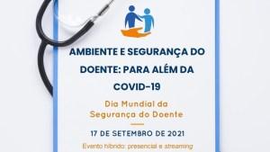 Simpósio «Ambiente e segurança do doente: Para além da Covid-19»