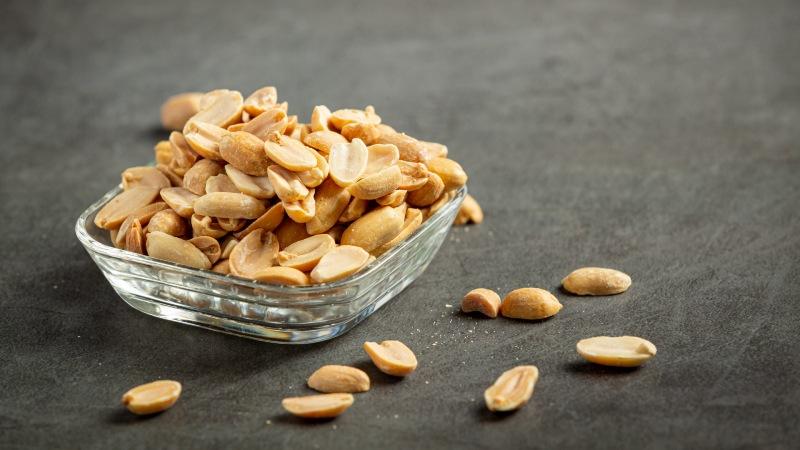 consumo de amendoins