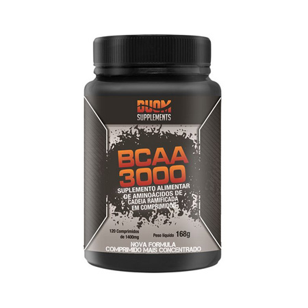 BCAA 3500 – 120 caps – Duom Supplements - Saúde Pura