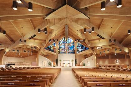 Sauder Worship Custom wood pews sugerland TX