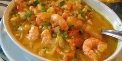Deliciosos camarões típicos da culinária baiana