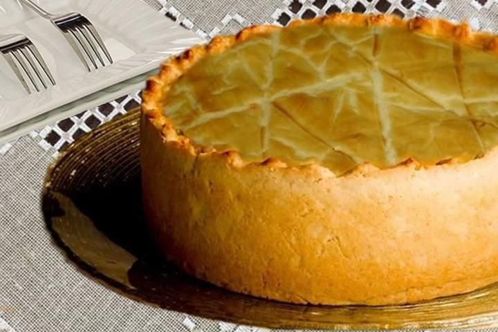 Torta Empadão de Palmito