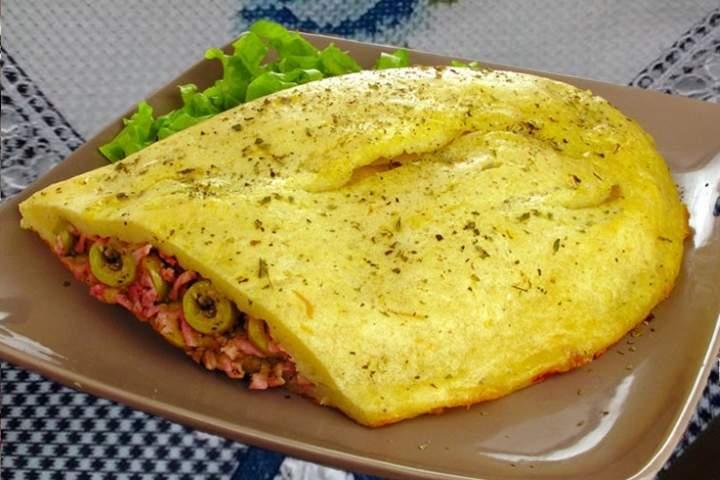 Pastelão Napolitano de Batata Doce