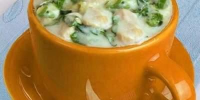 Sopa creme de Frango com Verduras