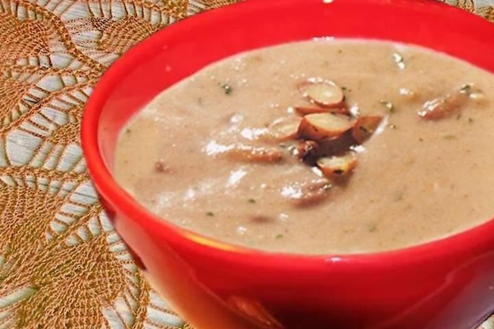 Sopa-Creme de Pinhão