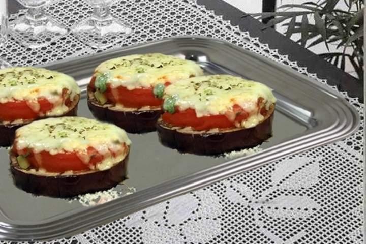 Mini Pizza de Berinjela