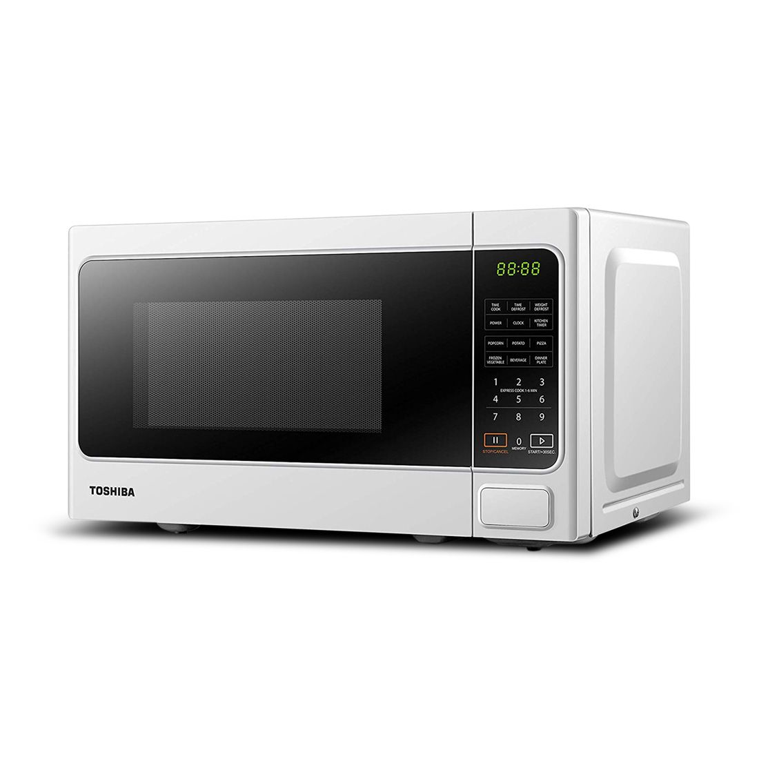 toshiba microwave oven mm em20p wh 20ltr