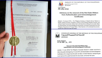 Services Offered by the Philippine Embassy in Saudi Arabia and