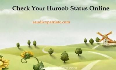 Check Huroob Status on Iqama Online on mol.gov.sa SaudiExpatriate.com