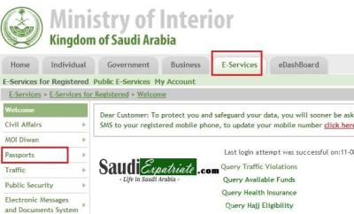 Family Visit Visa Extensions Online through moi.gov.sa-SaudiExpatriate.com