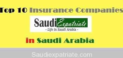 List of Top 10 Insurance Companies in Saudi Arabia-SaudiExpatriate.com