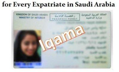 All Information about Iqama in Saudi Arabia (KSA)-SaudiExpatriate.com
