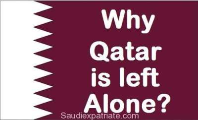 Why was Qatar left alone by Other Gulf Countries-SaudiExpatriates.com
