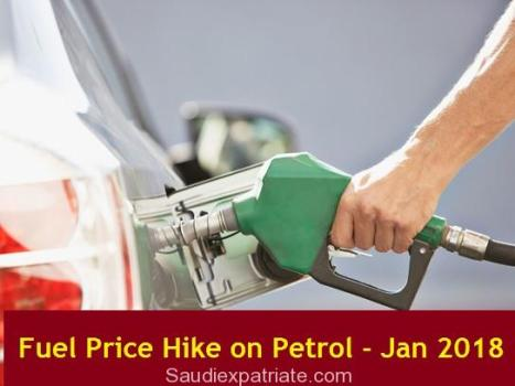 Hike in Fuel Prices in KSA from January 2018-SaudiExpatriate.com