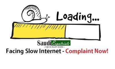 Facing Internet Speed Issues in Saudi - Complaint Now!-SaudiExpatriate.com