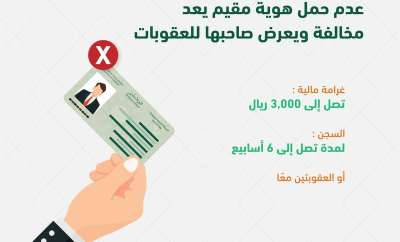 Carry your Iqama or Pay Fine of SR3000-SaudiExpatriate.com