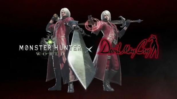 Monster Hunter: World Devil May Cry
