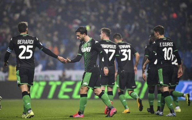 Image result for photos of sassuolo vs roma