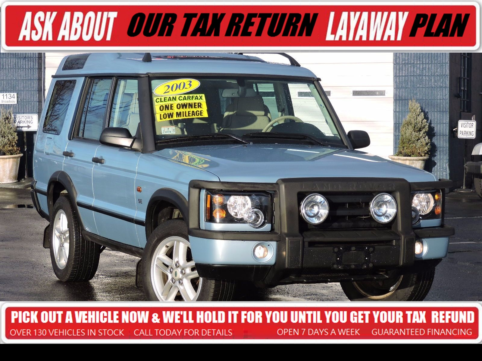 Used 2003 Land Rover Discovery SE at Saugus Auto Mall