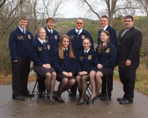 2009-2010 Sauk Prairie FFA Officers