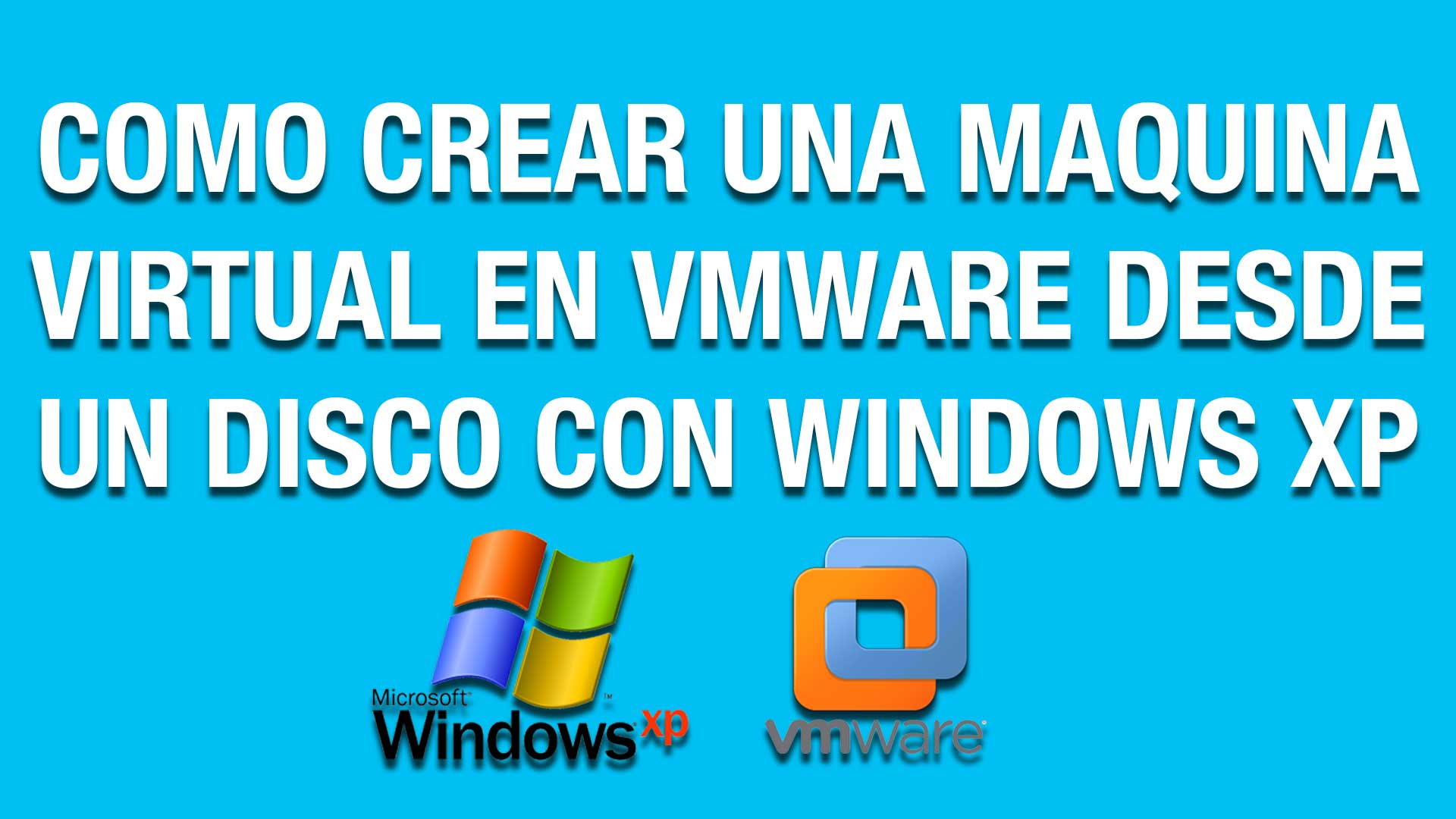 Como crear una Maquina Virtual en VMWare desde un Disco con Windows XP : Tutorial Recuperacion Datos