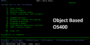 Read more about the article Object Based OS400
