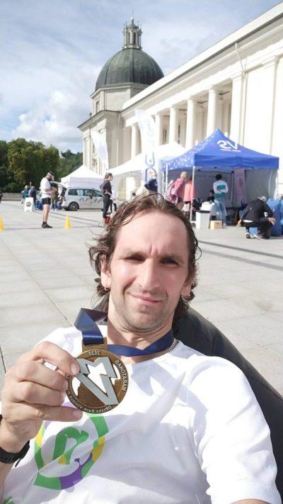 Danske bank Vilniaus maratonas 2020 finišas