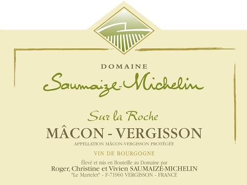Étiquette domaine Saumaize-Michelin