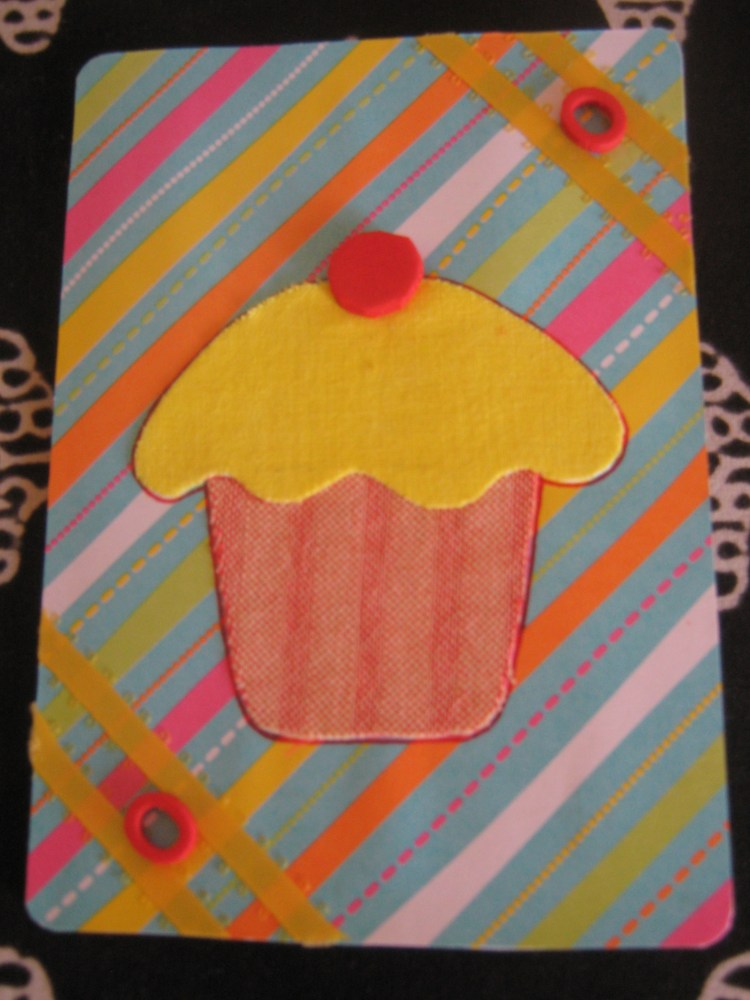 Cards using Fabric (6/6)
