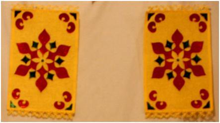 Table Mat Wall Hanging (4/4)