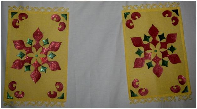 Table Mat Wall Hanging (3/4)