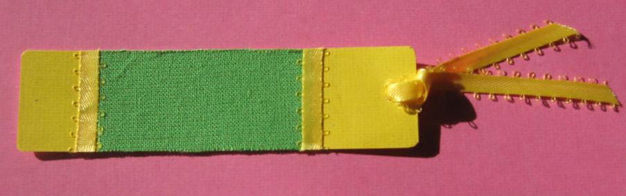 Fabric Bookmarks (4/6)