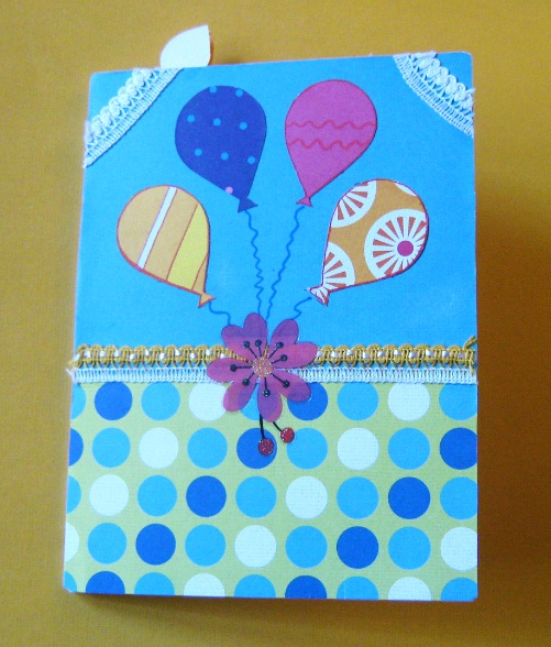 Balloon Cards or Pop up Birthday Cards (1/5)