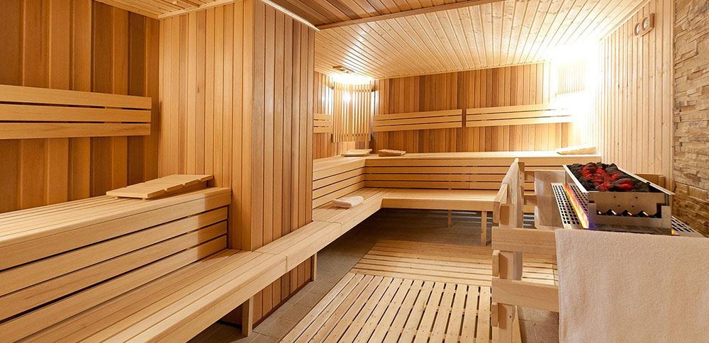 Sauna জন্য কাঠের আস্তরণের