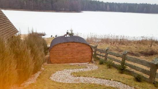 Sauna owalna