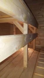 Sauna owalna - wyposażenie