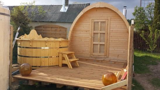 Sauna domek igloo