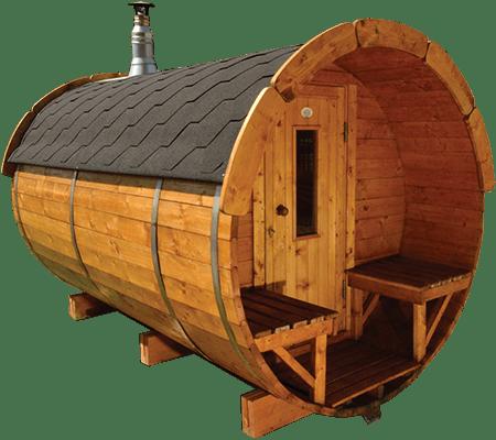 Poważnie Sauna beczka ogrodowa - SaunaDrewniana.pl FY51
