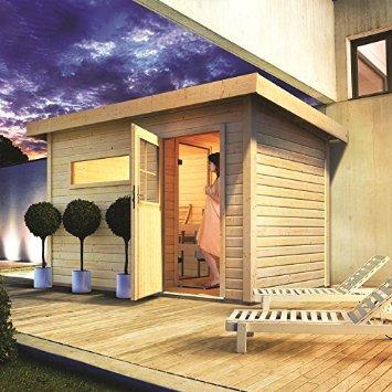 Das Mittelgrosse Saunahaus Skrollan Sauna Haus Test