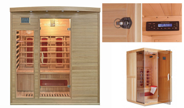 home deluxe Sauna test