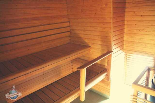 sauna, jossa tavata ystavia